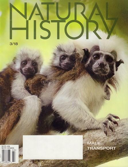 Natural History Cover - 3/1/2018