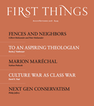 First Things Magazine 8/1/2018