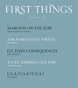 First Things Magazine | 12/2018 Cover
