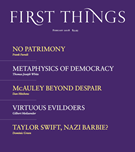 First Things Magazine 2/1/2018