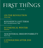 First Things Magazine | 10/2018 Cover