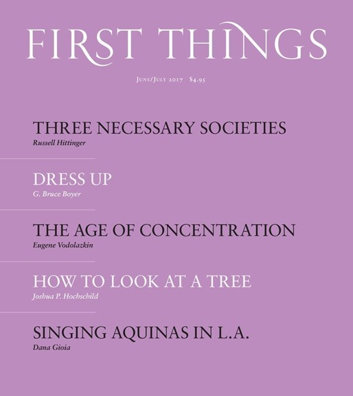 First Things Cover - 6/1/2017