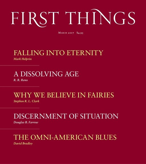 First Things Cover - 3/1/2017