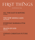 First Things Magazine 8/1/2016