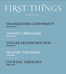 First Things Magazine 12/1/2016
