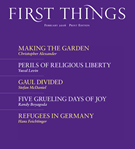 First Things Magazine 2/1/2016