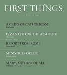 First Things Magazine 1/1/2016