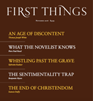 First Things Magazine 11/1/2016