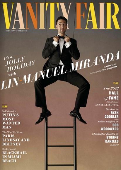 Vanity Fair Cover - 12/25/2018