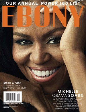 Ebony Magazine | 12/1/2018 Cover