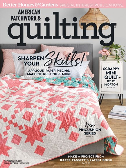 American Patchwork & Quilting Cover - 2/1/2019