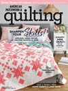 American Patchwork & Quilting Magazine | 2/1/2019 Cover