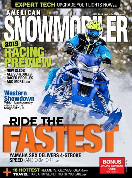 American Snowmobiler Cover - 1/1/2019