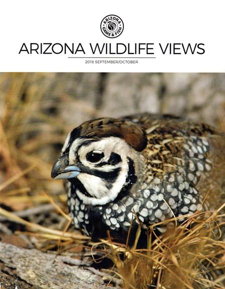 Arizona Wildlife Views Cover - 9/1/2018