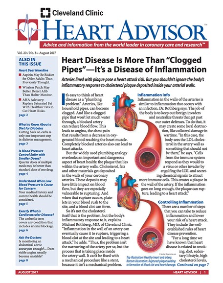 Heart Advisor Cover - 8/1/2017