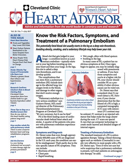 Heart Advisor Cover - 7/1/2017