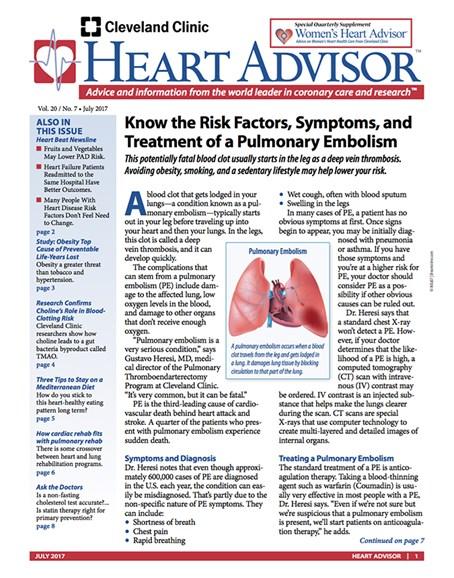 Heart Advisor Cover - 7/1/2017