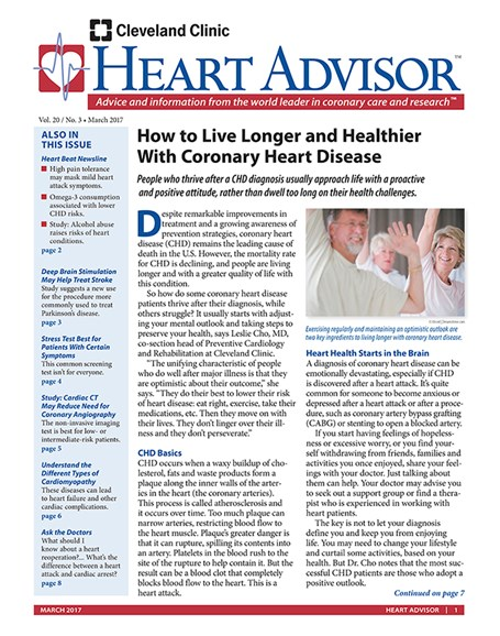 Heart Advisor Cover - 3/1/2017