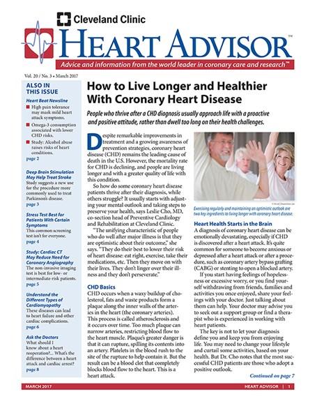 Heart Advisor Cover - 3/1/2017