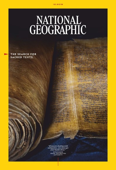 National Geographic Cover - 12/1/2018