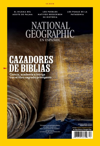 National Geographic En Español Cover - 12/1/2018