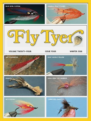 Fly Tyer Magazine   12/2018 Cover