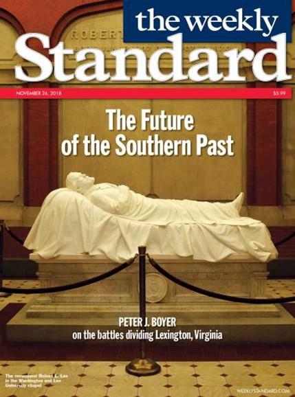 Washington Examiner Cover - 11/26/2018