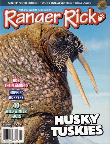 Ranger Rick Cover - 12/1/2018