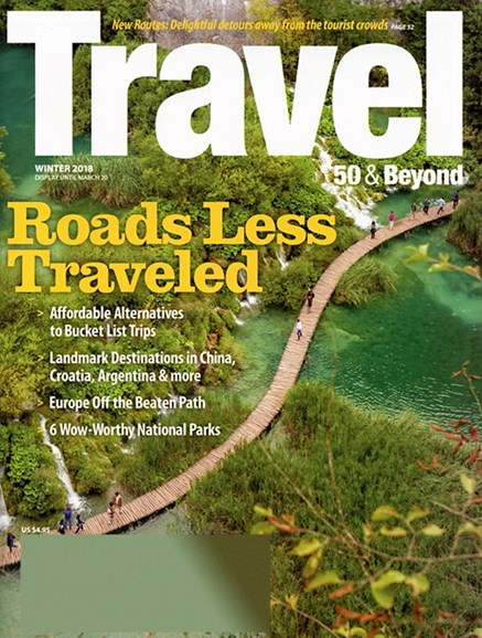 Travel 50 & Beyond Cover - 1/1/2018