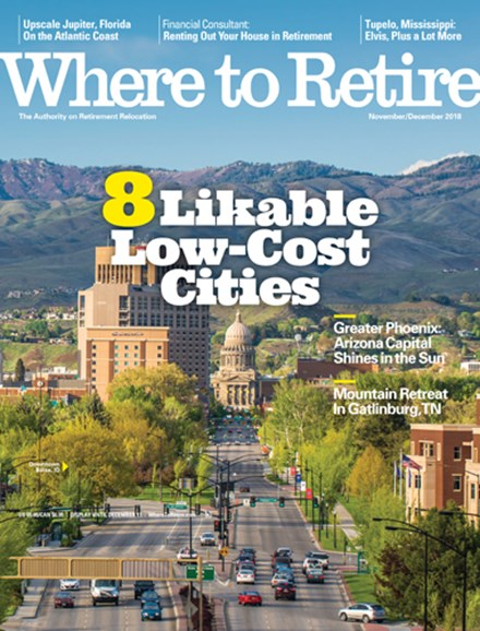 Where To Retire Cover - 11/1/2018