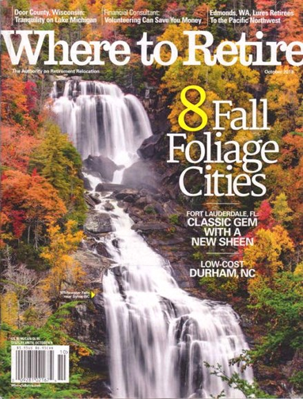 Where To Retire Cover - 9/1/2018