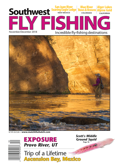 Southwest Fly Fishing Cover - 11/1/2018