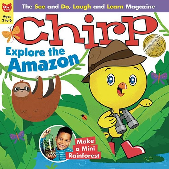 Chirp Cover - 4/1/2018