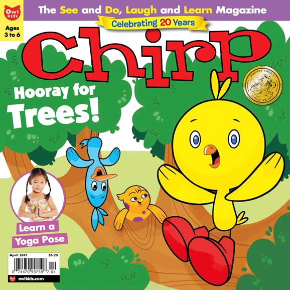 Chirp Cover - 4/1/2017