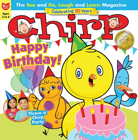 Chirp Cover - 6/1/2017
