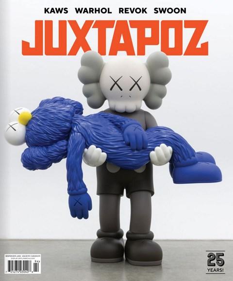 Juxtapoz Cover - 1/1/2019