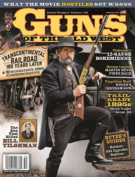 Guns Of The Old West Cover - 1/1/2019