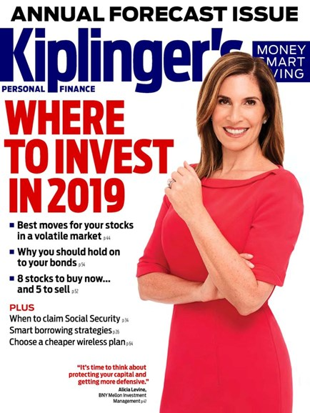 Kiplinger's Personal Finance Cover - 1/1/2019