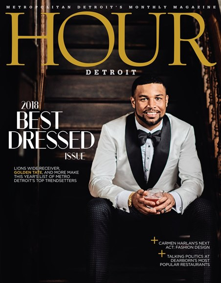 Hour Detroit Cover - 11/1/2018
