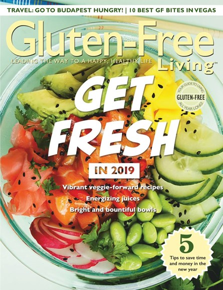 Gluten-Free Living Cover - 1/1/2019