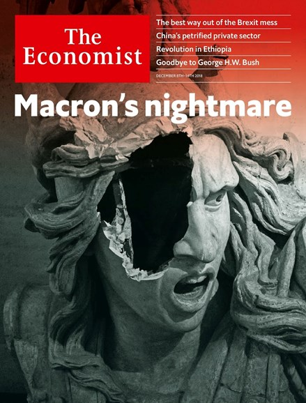 The Economist Cover - 12/8/2018