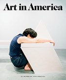 Art In America Magazine 12/1/2018