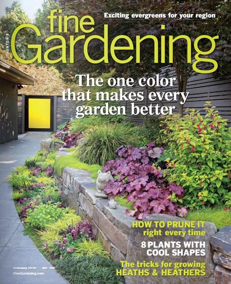 Fine Gardening Cover - 2/1/2019
