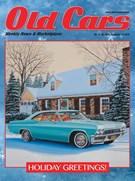 Old Cars Weekly Magazine 12/13/2018