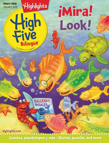 Highlights High Five Bilingue Cover - 1/1/2019