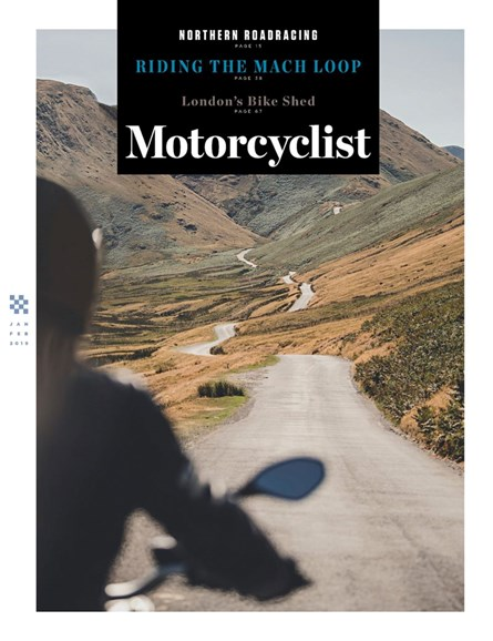 Motorcyclist Cover - 2/1/2019