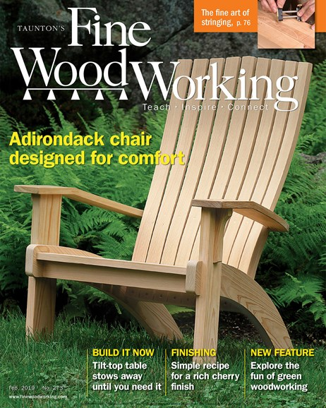 Fine Woodworking Cover - 2/1/2019