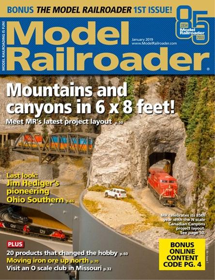 Model Railroader Cover - 1/1/2019