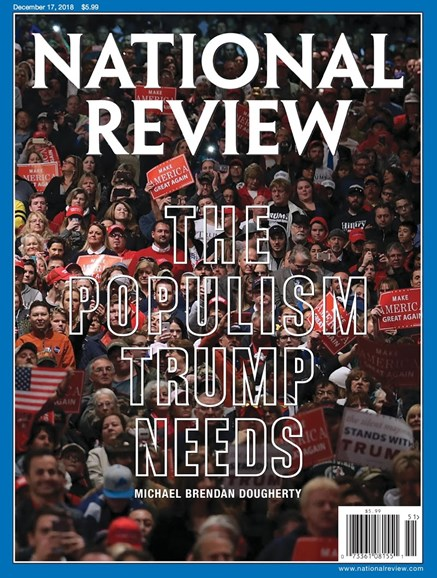National Review Cover - 12/17/2018