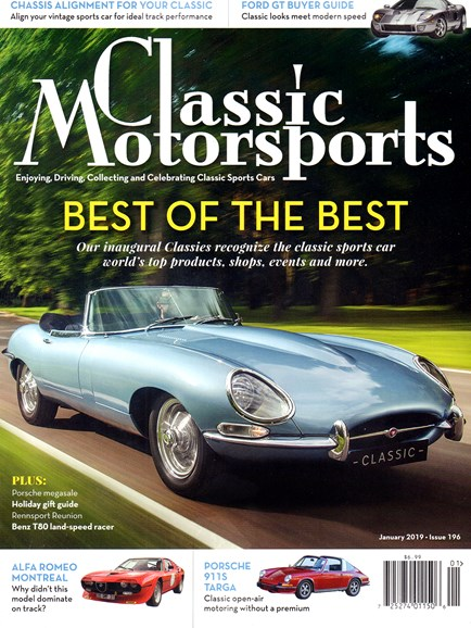 Classic Motorsports Cover - 1/1/2019